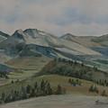 Montana Skyline by Jenny Armitage