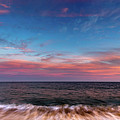 Montauk Pink Surf by Chris Leary