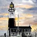 Montauk Point Lighthouse by Derek Mccrea