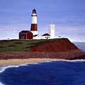 Montauk Point Lighthouse by Frederic Kohli