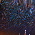 Montauk Star Trails by Rick Berk