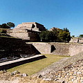 Monte Alban Ball Court by Michael Peychich