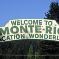 Monte Rio Sign by Frank DiMarco
