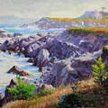 Monteray Bay Morning 1 by Gary Kim