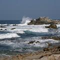 Monterey Coastline by Bev Conover