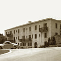 Monterey Hospital Was Built In 1930 At 576 Hartnell St, Monterey by California Views Archives Mr Pat Hathaway Archives