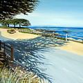 Monterey Shadows by Elizabeth Robinette Tyndall