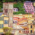 Monterosso Al Mare Cinque Terre Italy by Joan Carroll