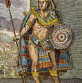 Montezuma II (1480?-1520) by Granger