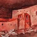 Montezuma's Castle by Sharon Mick