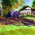 Monticello In October by Lee Klingenberg