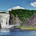 Montmorency Falls by Dave Thompsen