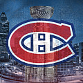 Montreal Canadiens City by Nicholas Legault