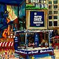 Montreal Jazz Festival Arcade by Carole Spandau