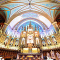 Montreal Notre-dame Basilica by Songquan Deng
