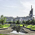 Montreal Peace In The Rush by Deborah Benoit