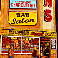 Montreal Smoked Meat Dunns Restaurant by Carole Spandau