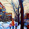 Montreal Winter by Carole Spandau