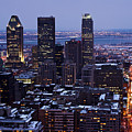 Montreal Winter Cityscape  by Pierre Leclerc Photography