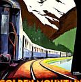 Montreux, Golden Mountain Railway, Switzerland by Long Shot
