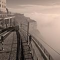 Montserrat Winter Morning Bw by Joan Carroll
