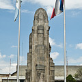 Monument Central Square Quezaltenango Guatemala by Douglas Barnett