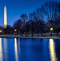 Monument In Blue by Jay Whipple