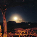 Monument Moonrise by Cathy Franklin
