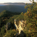 Monument Mountain Devils Pulpit Overlook by John Burk