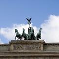 Monument On Brandenburger Tor  by Compuinfoto