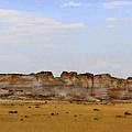 Monument Rocks In Western Kansas by Catherine Sherman