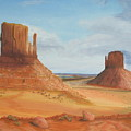 Monument Valley    The Mittens by Philip Hall