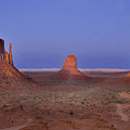 Monument Valley At Dusk by Joel P Black