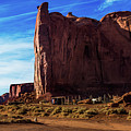 Monument Valley Corral by Cary Leppert