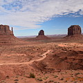 Monument Valley-one by Curtis Willis