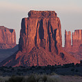 Monument Valley Sunrise 7288 by Bob Neiman