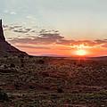 Monument Valley Sunrise  by John McGraw