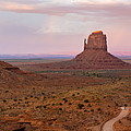 Monument Valley Sunset Panorama by Richard Sandlant