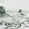 Monument Valley, Winter by Scott Griswold