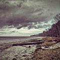 Moody Beach by Ingrid Dendievel