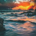 Moody Ocean by Andrew Zuber