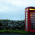 Moody Red Telephone Box II by Helen Northcott