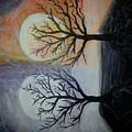 Moon And Sun by Ana Maria Alida Schmidt