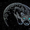 Moon-cat  by Dwayne  Hamilton