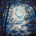 Moon Clouds by Susan Michutka