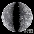 Moon Composite, First And Last Quarter by Babak Tafreshi