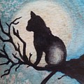 Moon Kitty by Halie French