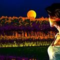 Moon Love by Bliss Of Art