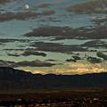 Moon Over Albuquerque by Keith Peacock