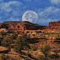 Moon Over Canyonlands by Mitch Johanson